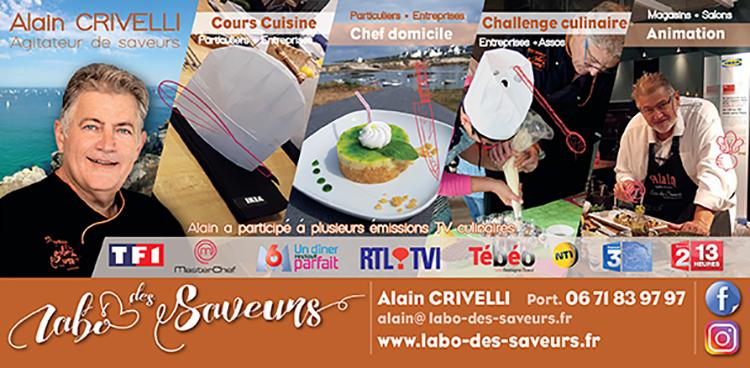 Cours de cuisine animation culinaire chef domicile - Cours de cuisine bretagne ...